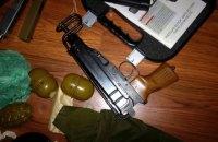 Правоохранители обнаружили арсенал оружия в Киевской области