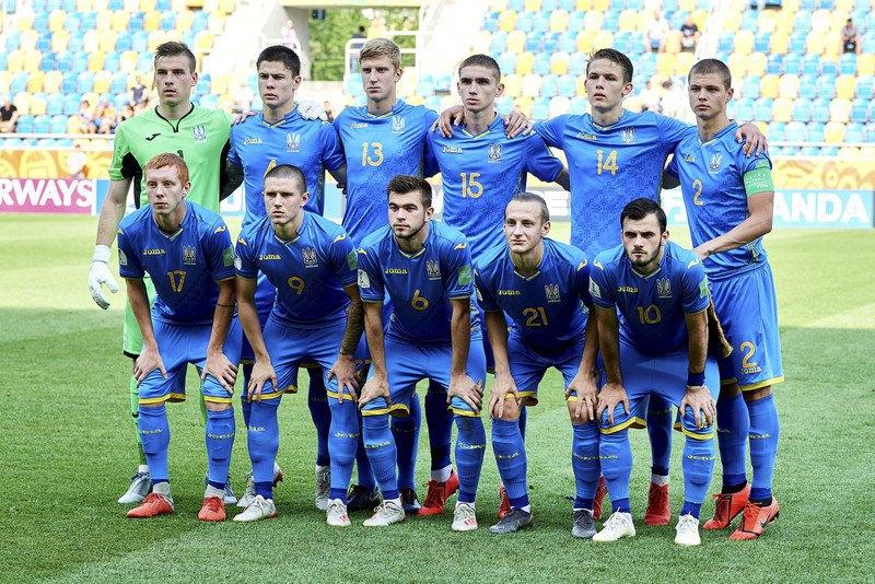 Молодежная сборная Украина