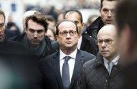 Олланд назвав напад на редакцію Charlie Hebdo терактом