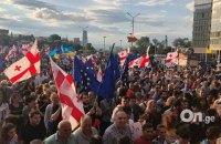 У Грузії пройшла багатотисячна демонстрація з вимогою відставки глави МВС