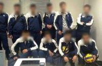 У Греції затримали сирійських мігрантів, які вдавали із себе волейбольну команду з України