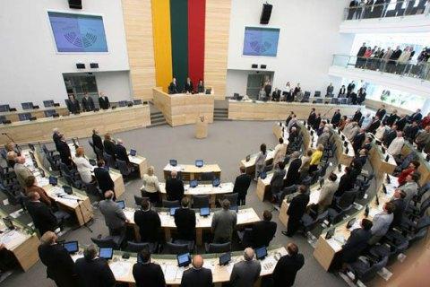 У Литві депутат відмовився від мандата через сексуальний скандал