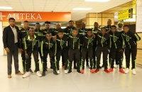 До Криму прилетіла футбольна команда з Камеруну