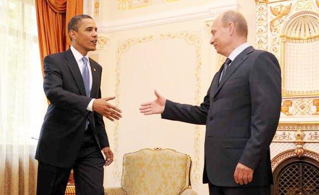 Отказ Путина от участия в саммите G8 шокировал Обаму