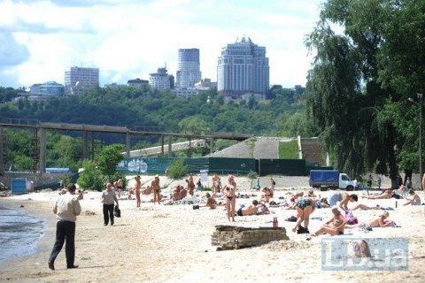 СЕС закрила шість київських пляжів