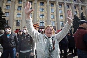 МВД обнародовало расценки за участие в пророссийском митинге в Харькове