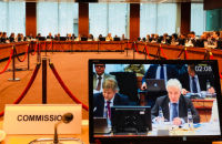 Радники Зеленського поспілкувалися з послами ЄС у Брюсселі (оновлено)
