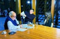 Луценко дав інтерв'ю адвокатові Трампа Джуліані для його документального фільму