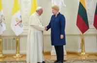 Президент Литви подякувала Папі Римському за допомогу в опорі СРСР