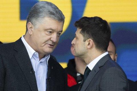 В президентском рейтинге лидирует Зеленский, Порошенко обходит Юрия Бойко на 3%