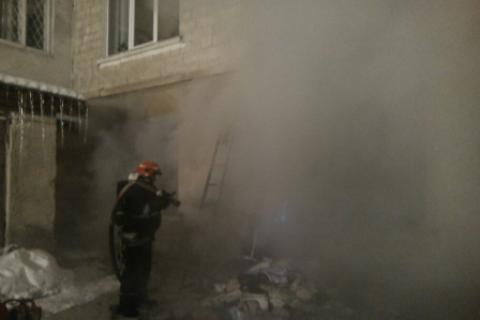 При пожаре в детской больнице в Тернополе спасли 17 детей и одну сотрудницу