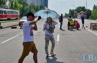 В субботу в Киеве до +27, все еще возможны дожди с грозами