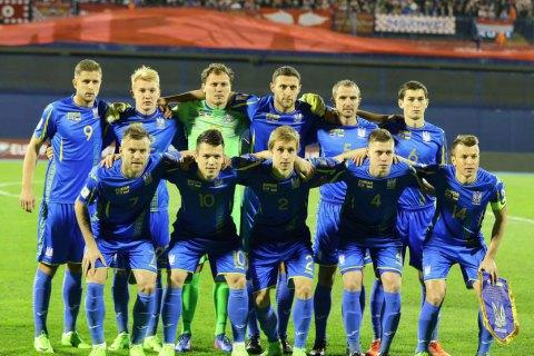 Україна залишилася на 35 місці в рейтингу ФІФА