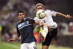 Німеччина поступилася Аргентині