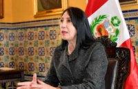 Глава МЗС Перу пішла у відставку через таємну вакцинацію від COVID-19