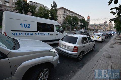 В связи с инаугурацией в Киеве ограничат движение на 19 улицах