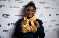 Гімнастка Симона Байлз побила рекорд Щербо за кількістю медалей на чемпіонатах світу