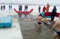 В Киеве на Крещение будут дежурить 125 спасателей