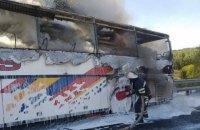 """На трассе """"Киев-Одесса"""" сгорел рейсовый автобус"""