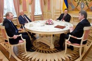 Кравчук  жалеет о кадрах, Кучма –  что не того пустил в огород, а Ющенко – о Тимошенко