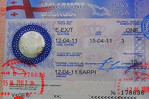 """Грузинская оппозиция назвала отмену виз для россиян """"трюком Саакашвили"""""""