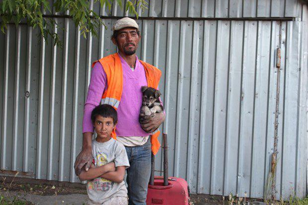 На Березняковской осталась только одна ромская семья, и сегодня они тоже отправятся домой, в Берегово