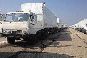 """Одночасно з """"гуманітарним конвоєм"""" Росія стягує до кордону артилерію, - Тимчук"""