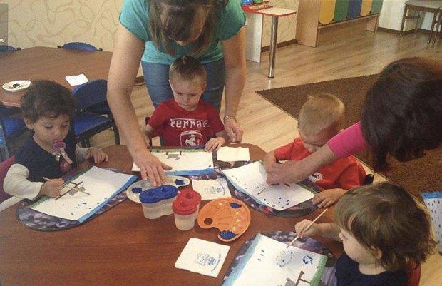 Приватний міні дитсад з ясельною групою на Осокорках, Київ