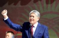 У Киргизстані затримали колишнього президента Атамбаєва