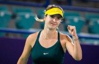 Світоліна обіграла росіянку Звонарьову і вийшла до третього раунду турніру в Абу-Дабі