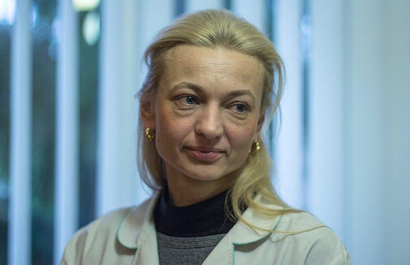 Завідувачка відділення Оксана Мощинська