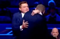 Мосийчук подрался с политологом Семченко в эфире NewsOne