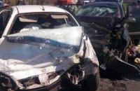 """Семья на """"Ланосе"""" погибла в Харьковской области после лобового столкновения с Hyundai Tucson"""