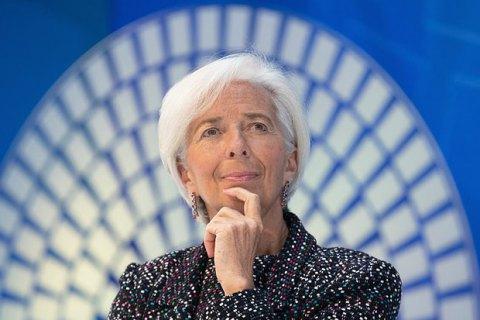 Глава МВФ Крістін Лагард заявила про відставку