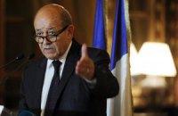 """Франція подумає про передачу Росії """"Містралів"""" тільки після встановлення миру на Донбасі"""