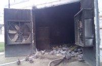 П'ять тисяч курей загинули через пожежу на фермі біля Токмака