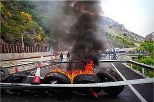 На севере Испании шахтеры заблокировали автострады