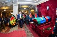 Кримські сепаратисти Аксьонов і Поклонська приїхали на похорон Захарченка в Донецьк