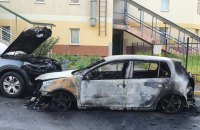 Уночі в Києві спалили автомобіль активістові, який бореться із незаконною забудовою