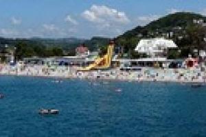 На крымском пляже нашли бомбу