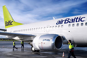 Авіакомпанія airBaltic продає квитки на невідомі напрямки