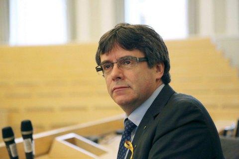 КСИспании заблокировал утверждение Пучдемона главой женералитета Каталонии