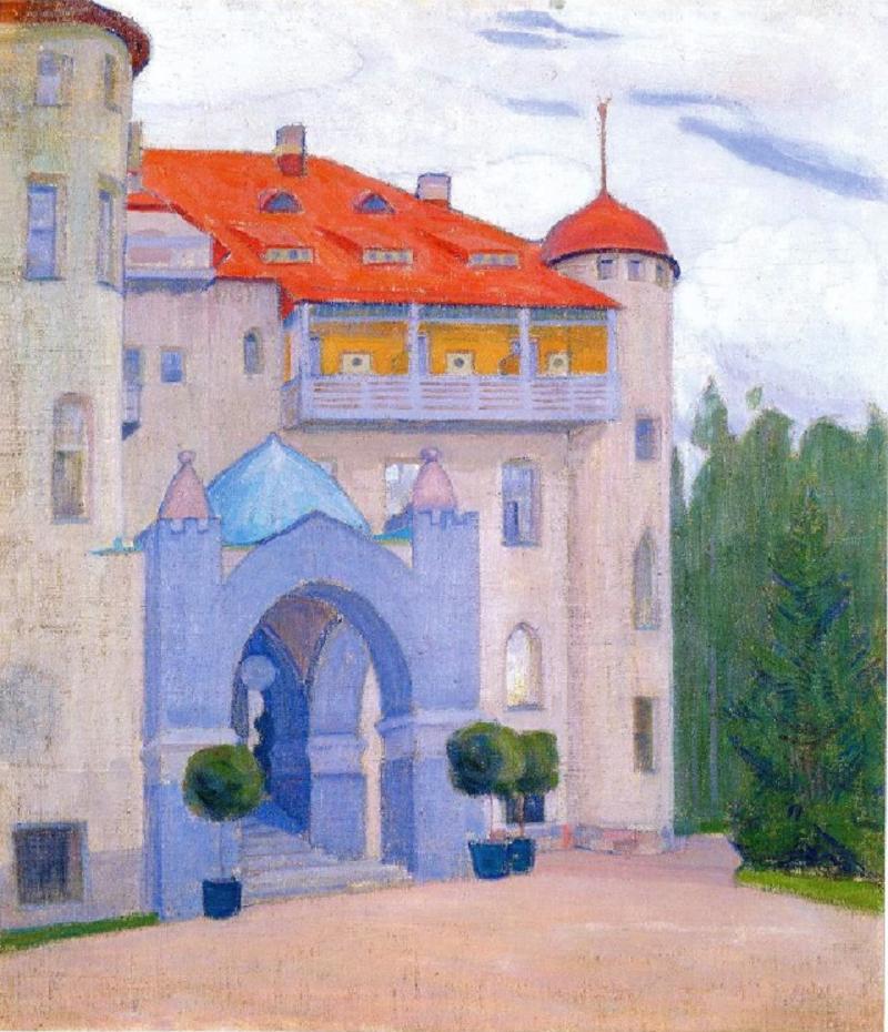 О. Богомазов «Замок у Фінляндії» (колекція Костянтина Григоришина, 1911)