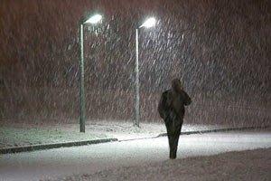 Завтра в Киеве местами небольшой мокрый снег