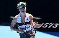 Свитолина в тяжелейшем матче пробилась в 1/8 финала Australian Open