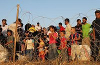 За неделю число сирийских беженцев увеличилось на 10%