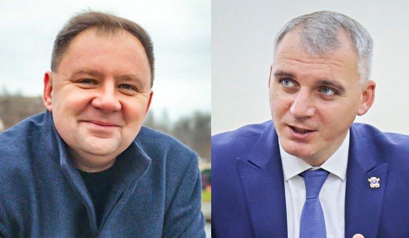 Владислав Чайка та Олександр Сенкевич