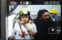 На Майдані в шию поранено дівчину-медика