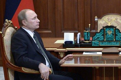 Путін висунув свої вимоги з приводу Донбасу