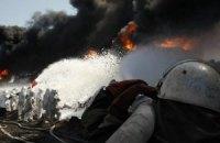 На нафтобазі під Києвом очікуються ще два вибухи